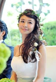 八田亜矢子 スタイル抜群 結婚式